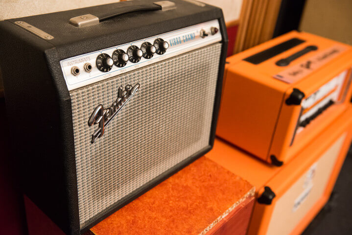 Fender Champ (silverface 1972)
